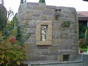 Sichtschutz Mauer Naturstein : gartengestaltung fahrbach referenzen gartengestaltung wege und terrassen naturstein und ~ Sanjose-hotels-ca.com Haus und Dekorationen