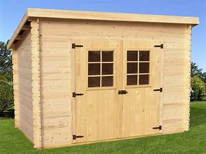 Cabanon De Jardin Pas Cher : abri de jardin en bois charente 3x2 m bouvara ~ Dailycaller-alerts.com Idées de Décoration