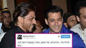 Salman Khan praises Shah Rukh Khan's Happy New Year ...