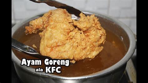 Cara membuat ubi goreng yang garing dan enak yuk, buat ubi goreng yang garing di rumah! Resep Ayam Goreng ala KFC Enak, Gurih, Renyah - YouTube