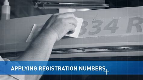 Boat Registration Uk by How To Remove And Install Vinyl Letters And Numbers