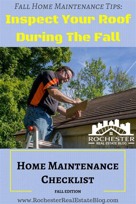 Fall Home Maintenance Checklist & Tips  Preparing Your