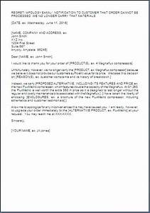 Minister Resume Sample Letter For Non Availability Of Product