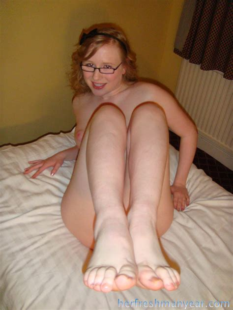 Cute British Teen In Glasses Has Her Pussy Pounded Ass Point