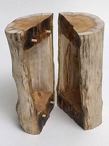 Skulpturen Aus Holz : peter wagensonner skulpturen objekte aus holz urne baumform gespalten holzideen ~ Frokenaadalensverden.com Haus und Dekorationen