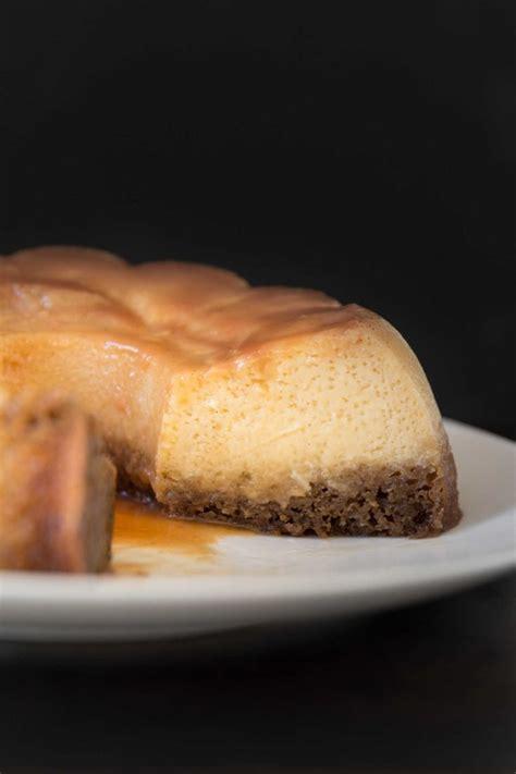 Pour caramel evenly into 8. Vietnamese Coffee and Caramel Coconut Flan Cake - Bakelife | Flan cake, Coconut flan, Flan