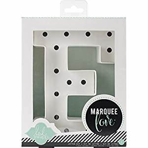 american crafts cardboard heidi swapp marquee love letters With 5 inch marquee letters