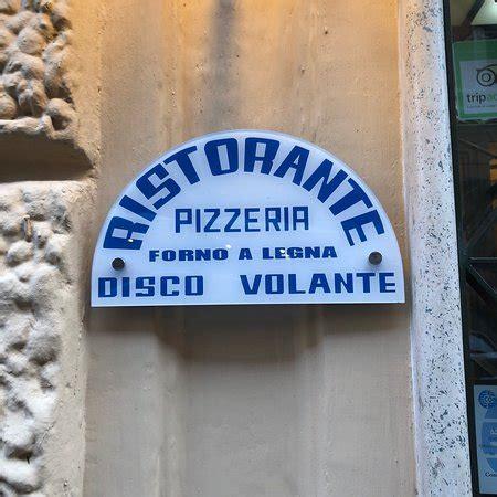 Pizza Volante Roma Disco Volante Roma Salario Ristorante Recensioni