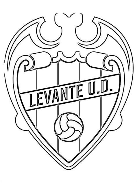 Kleurplaat Spaanse Vlag by Kleurplaat Levante Ud Logo Gratis Kleurplaten