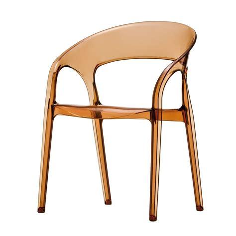 chaises polycarbonate gossip 620 chaise pedrali avec accoudoirs de design en