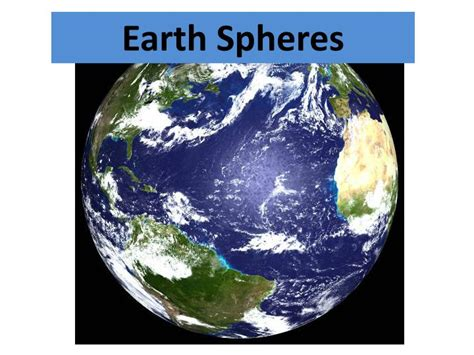Ppt  Earth Spheres Powerpoint Presentation Id2768113