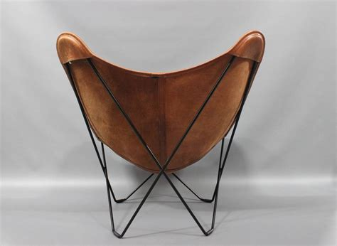 butterfly chair leder tainted leather butterfly chair