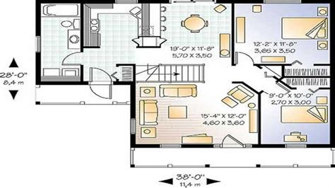 square foot ranch house plans square feet measurement