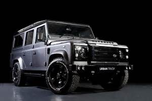 Custom Land Rover Defender Car Interior Design