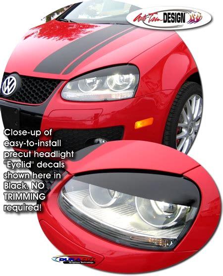 Headlight Eyelid Decal Kit 1 For Volkswagen Gti