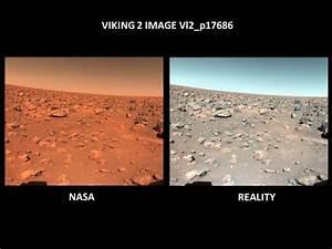 MIKE BARA.com: Revisting the True Colors of Mars