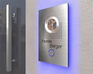 Edelstahl Video Türsprechanlage : design video t rsprechanlage mit led hintergrundbeleuchtung t erklingeln ~ Sanjose-hotels-ca.com Haus und Dekorationen