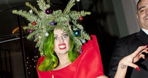 christmas tree turns ten years  today gaga thoughts