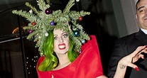 Lady Gaga Wears Christmas Tree Outfit While Leaving Jingle ...