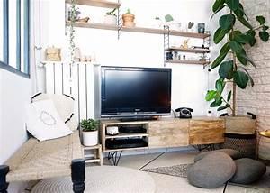 Meuble En Coin : meuble tele en coin 9 id es de d coration int rieure french decor ~ Teatrodelosmanantiales.com Idées de Décoration