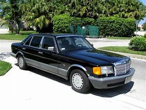 Find Used 1987 Mercedes 420 Sel Four Door Sedan In Stuart  Florida  United States  For Us  2 600 00