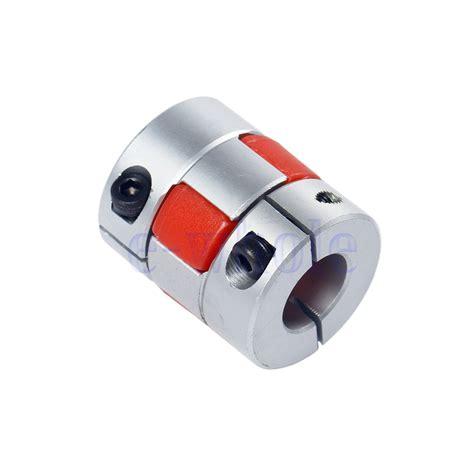 mm  mm flexible plum shaft coupling cnc stepper motor coupler  ma ebay