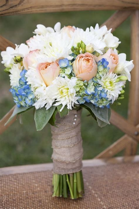 pastel blue pink rustic bouquet  togethers parties