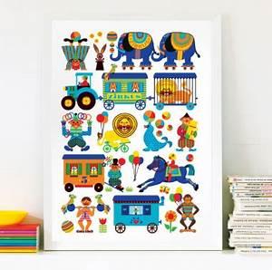 Kinder Spielen Zirkus : by graziela zirkus kinder poster 50 x 70 cm engelwerk ~ Lizthompson.info Haus und Dekorationen