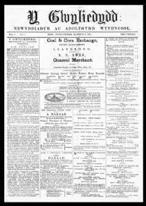 Y Gwyliedydd - Welsh Newspapers Online