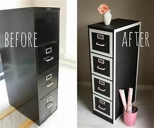How to Make File Cabinet Makeover - DIY & Crafts - Handimania