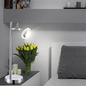Lampen Für Schlafzimmer : led tischlampe f r ihr schlafzimmer mit schalter tommy ~ Pilothousefishingboats.com Haus und Dekorationen