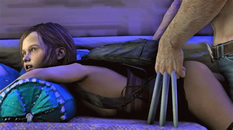 Rule 34 3d Animated Animated  Backpack Claws Clothed Sex Crossover Ellie From Behind