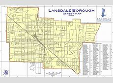 Borough Maps Lansdale Borough, PA Official Website