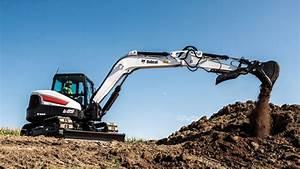 Bobcat Co. Bobcat R-Series E85 Compact Excavator in Mini ...