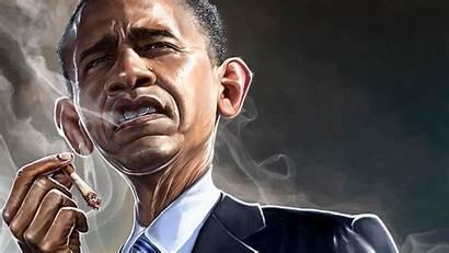 Obama Barack Smoking Wallpapers 4k 5k Background
