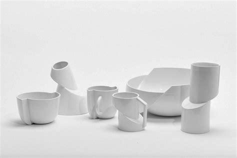 minimalist ceramics focused  deconstruction design milk