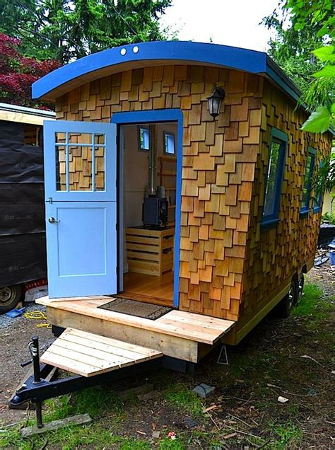 Home Design Ideas For Small Houses by Hornby Island Caravan S Tiny Home Your Next Office Or