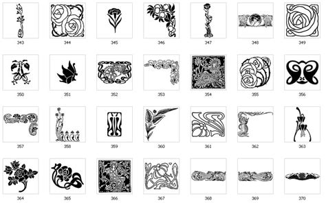 Art Nouveau Designs And Images Page 3