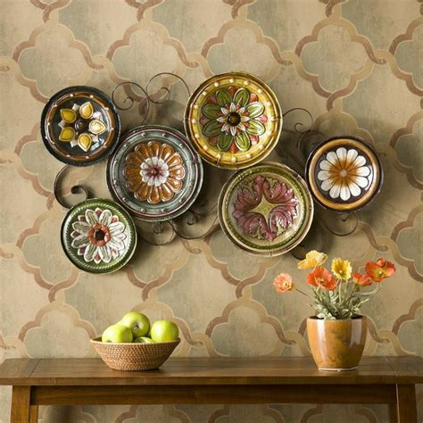 Tuscan Decorative Wall Plates by Scattered Italian Plates Wall D 233 Cor