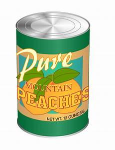 Can Of Non-perishable Food Clipart - Clipart Suggest