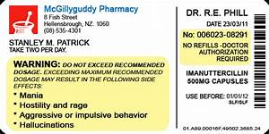 pill bottle label by lastgambit on deviantart With fake medication labels