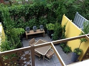 idees pour amenager un jardin de ville habitatpresto With amenagement petit jardin avec terrasse