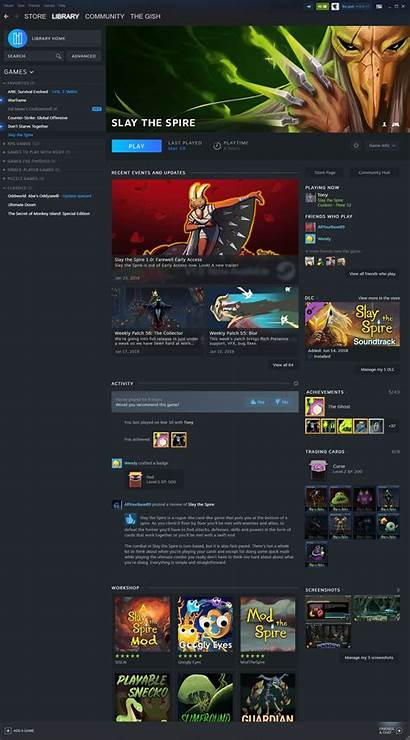 Steam Library Update Valve Events Reveals Feature