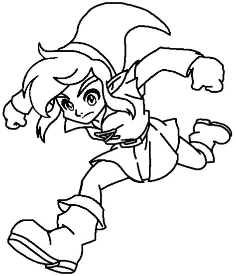 link coloring pages jumping link coloring page by paramourphoenix on deviantart