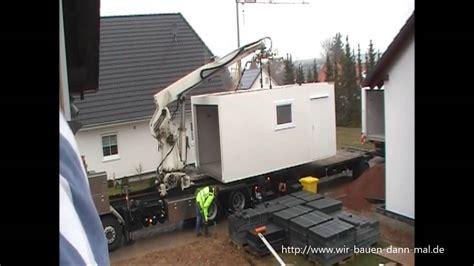 eine  meter zapf garage wird angeliefert youtube