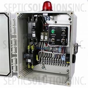 Ssc2b 230v Simplex Pump Station Control Panel