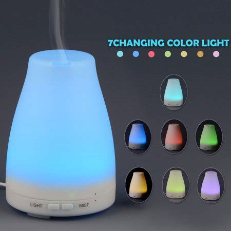 HDE Aromatherapy Essential Oil Diffuser Color Change LED