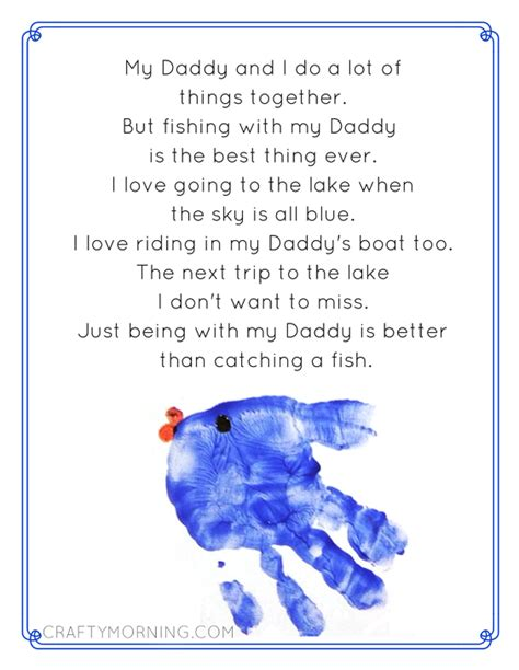 fathers day poem printables crafty morning