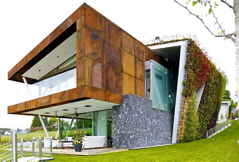 green home designs box villa takes energy efficient green homes to a