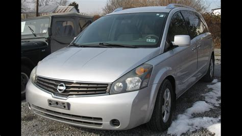 2007 Nissan Quest 3.5s Start Up And Tour